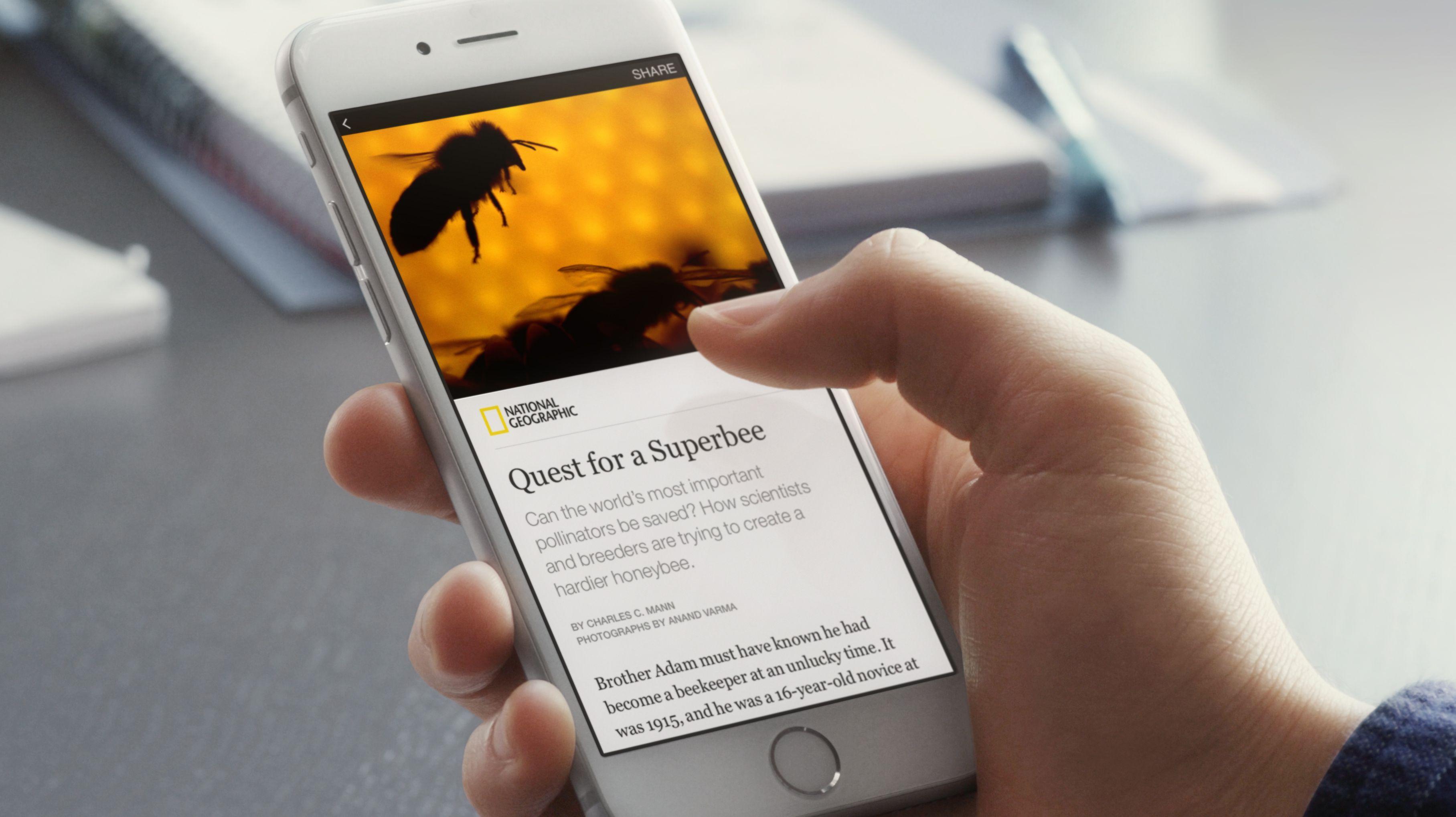 Llega Instant Articles a Facebook
