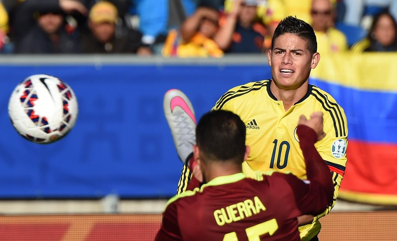 Colombia cae ante venezuela