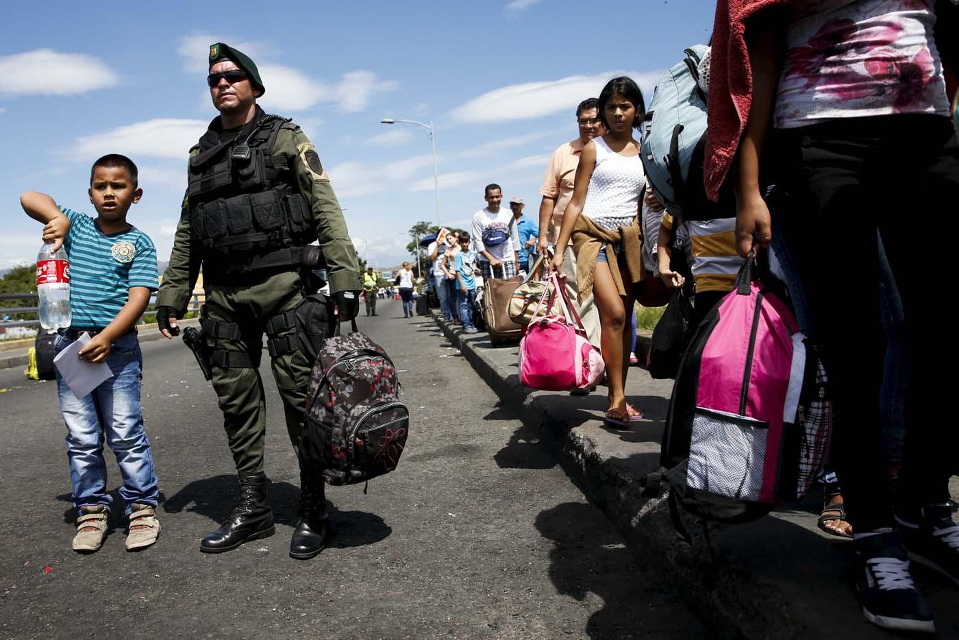 Crisis en al frontera.