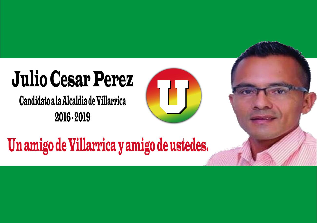 Julio Cesar perez, una propuesta joven.