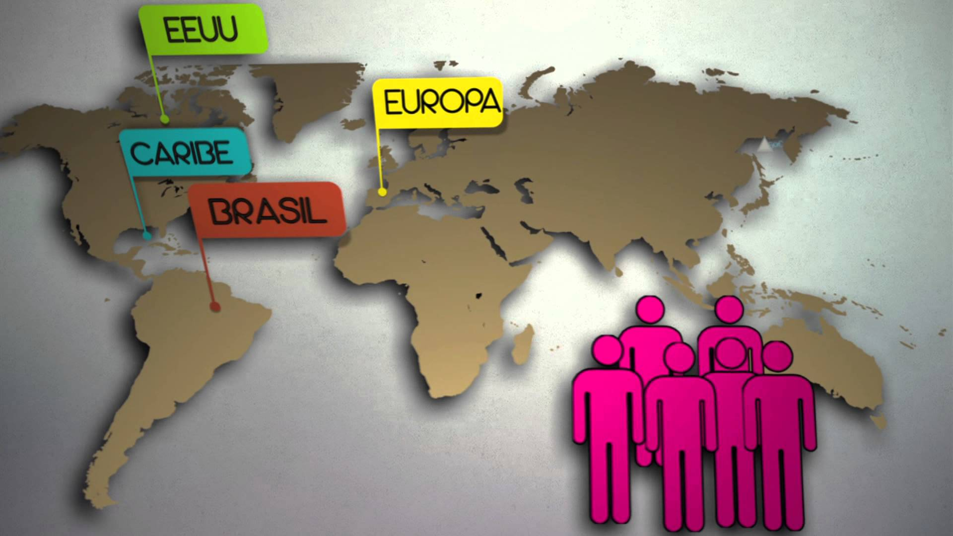 Las agencias de viajes colombianas aumentan sus ventas a Europa.