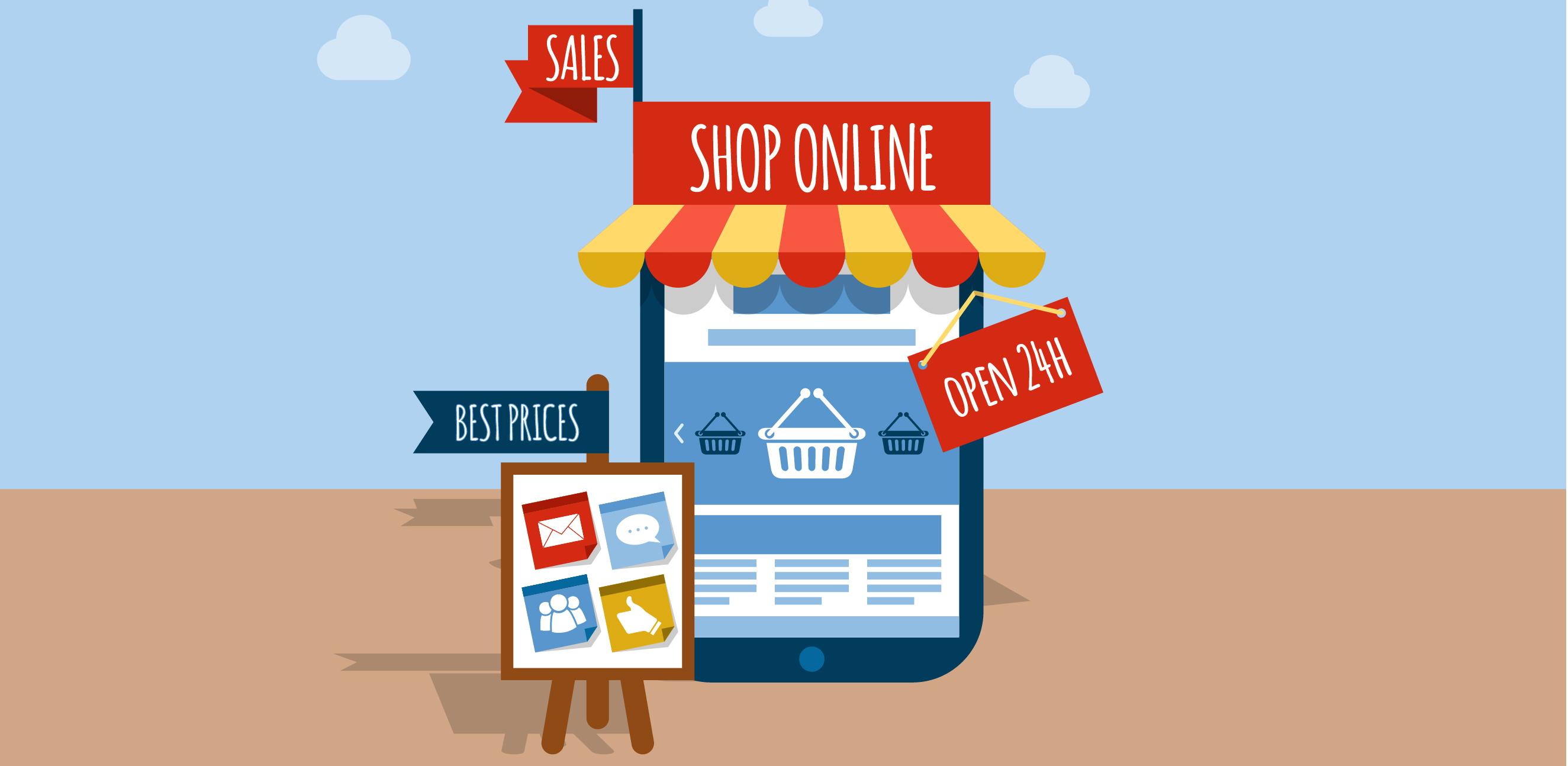 El e-commerce una solución a miles de comercios físicos.