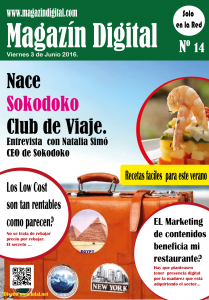 Portada magazin digital e de junio del 2016