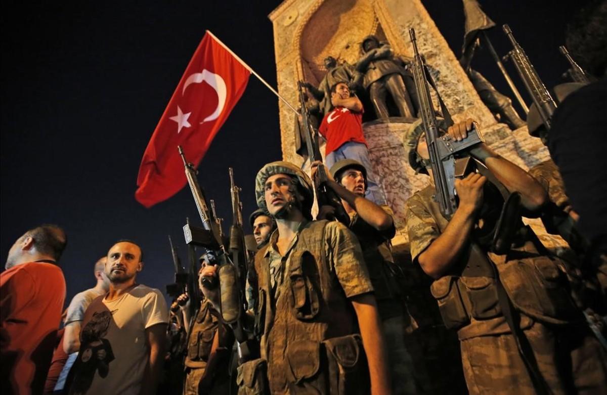 Golpe de estado fallido en Turquía.