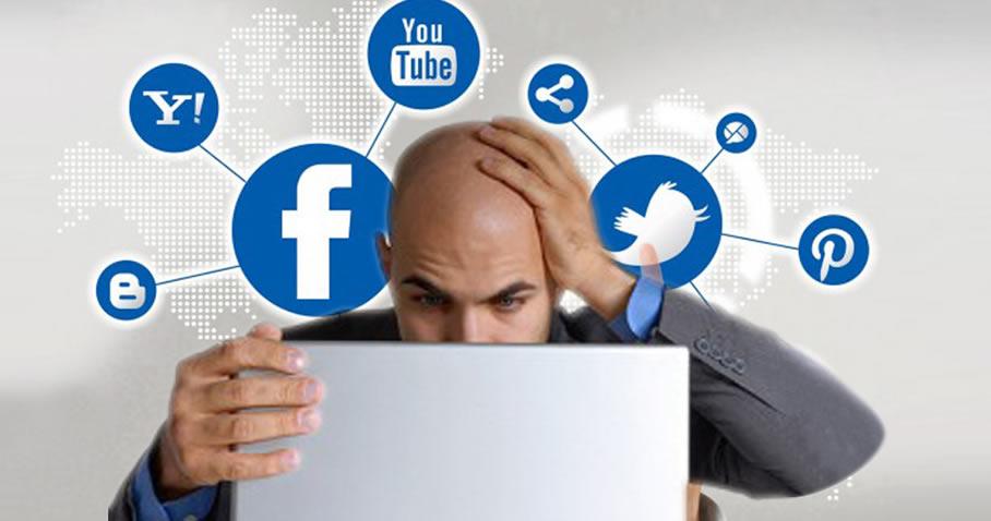 Errores mas comunes en las redes sociales.