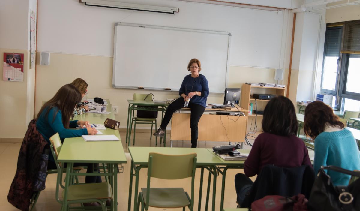 La escuela oficial de idiomas apuesta por una profesionalización de los idiomas.