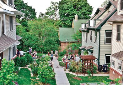 Cohousing una alternativa  de vivienda para personas mayores.